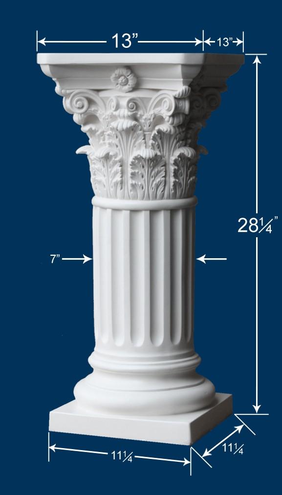 Roman Corinthian Pedestal
